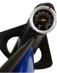 Manômetro da Bomba de Oficina com Válvula Reversível - Aço Azul - High One