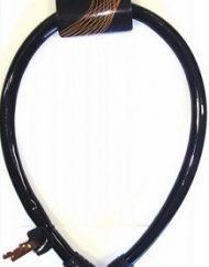 Cadeado Articulado com Chave 4x580 cm Fumê Maxtrava
