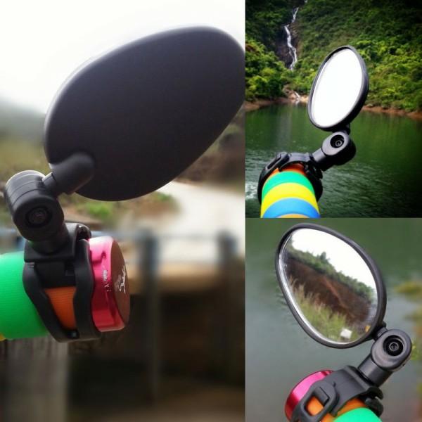 Espelho Retrovisor Bicicleta Universal 360 Graus Rotação