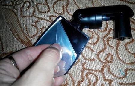 Ao receber o produto, o espelho vem com uma película protetora, Favor remover a película protetora antes de usar.
