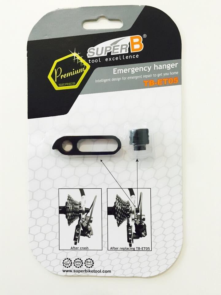 Gancheira de emergência Super B TB-ET05