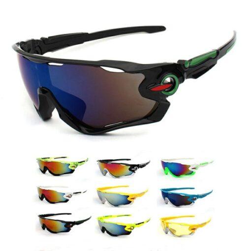 Óculos de Ciclista Proteção UV400 Ciclismo Bike Várias Cores