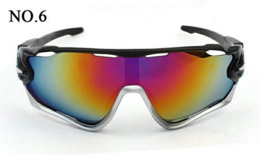 Óculos Ciclismo Proteção UV400 Ciclista Bike Várias Cores